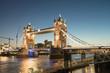 Beautiful colors of Tower Bridge at Dusk - London