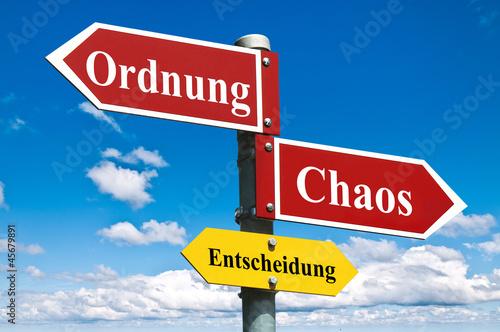 Ordnung oder Chaos