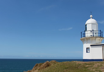 Lighthouse against blue sky Port Macquarie Australia