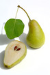 Pears isolated with shadow