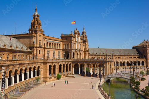 view of Plaza de Espana, Sevilla, Spain