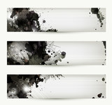 Fototapety Abstract grunge artistic headers
