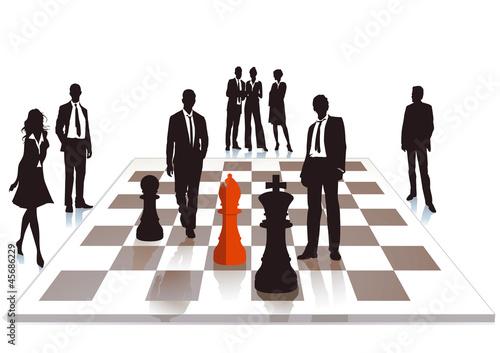 Business Schach