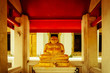 Buddha statue in Wat Pho temple, Bangkok, Thailand