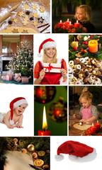 Backen von Plätzchen und Keksen für Weihnachten