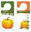 Banners with Pumpkin