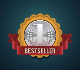 Vector bestseller badge