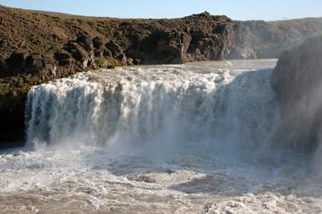 Island - Der Nordosten - Wasserfall Godafoss