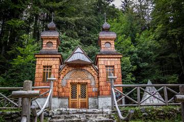 The Russian Chapel, Slovenia.