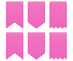 Pink retro ribbons