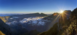 Aube sur le Cirque de Mafate - Ile de La Réunion