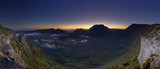 Cirque de Mafate à l'aube - Ile de La Réunion