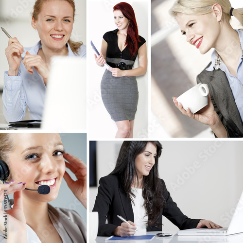 Compilation of women at work