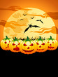 happy halloween - background