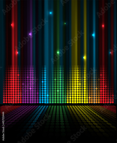 abstract music volume equalizer concept idea background