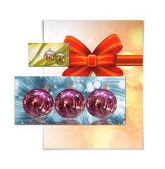 Ilustracion tarjeta de navidad
