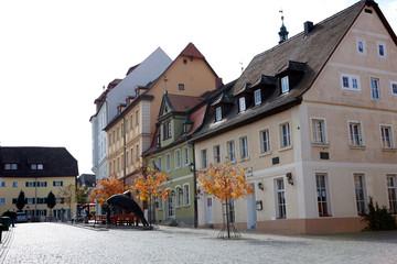 Hausensemble in der historischen Altstadt