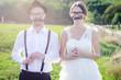 Funny couple e-session , preparing for wedding