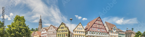 Market Square in Esslingen am Neckar, Germany