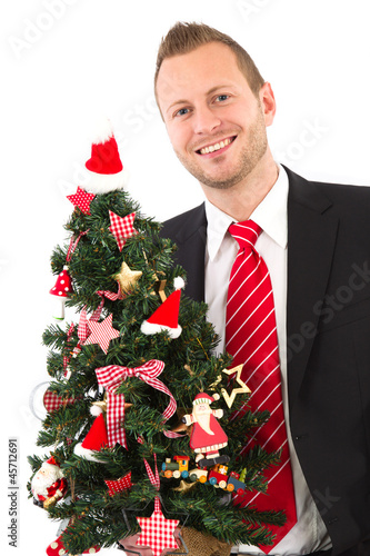 Manager wünscht ein Frohes Fest
