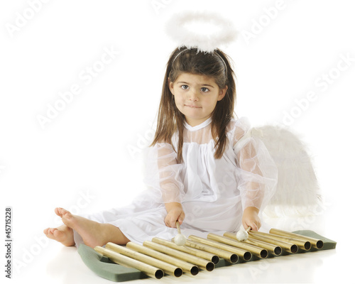 poster of Angel Learning Chimes