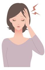 女性 / 頭痛 / 症状