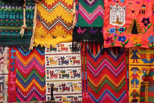 Textiles típicos de Guatemala - 45717077