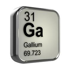 3d Periodic Table - 31 Gallium