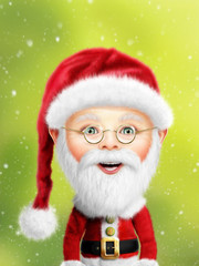 Whimsical Santa Claus