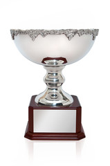 Silver Cup Trophy