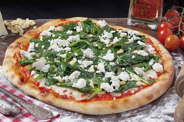Pizza Spinaci