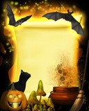 Magical Parchment Halloween