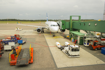 Airport parking terminal