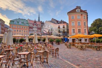City square. Riga, Latvia.