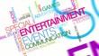 Entertainment events communication tag cloud video