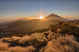 Atardecer junto al Teide