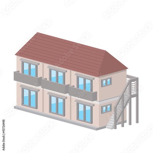 アパート アイコン 建物