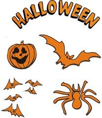 pictogrammes halloween