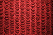Red curtain background texture