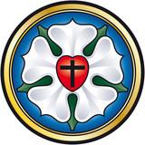Martin Luther Rose, seal (Lutherrose, Siegel)