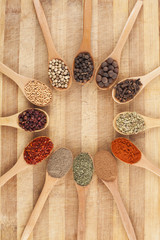 circle of spices