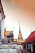 Wat Pho, Buddhist temple, Bangkok, Thailand