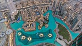Dubai Fontain from the Top Khalifa