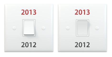 New year light switch 2012 2013