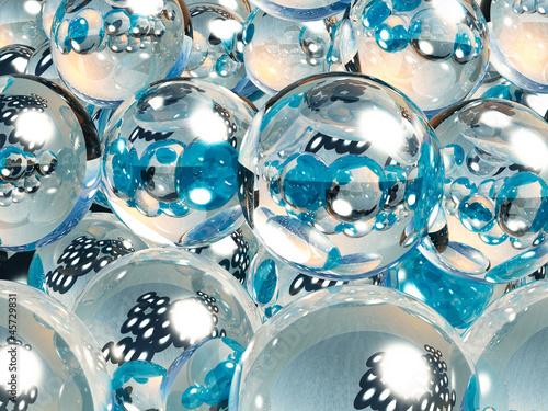 3D Balls - 45729831