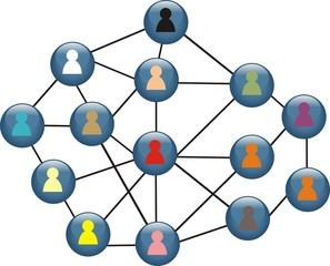 pictogramme réseau social