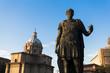 Julius Caesar statue in Rome, Italy