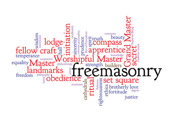 WEB ART DESIGN TAG CLOUD FREEMASONRY MASON LODGE SECRET 030
