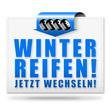 Winterreifen! Button, Icon