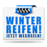 Winterreifen! Button, Icon